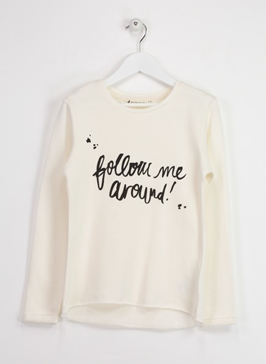 Baskılı Sweatshirt-Asymmetry